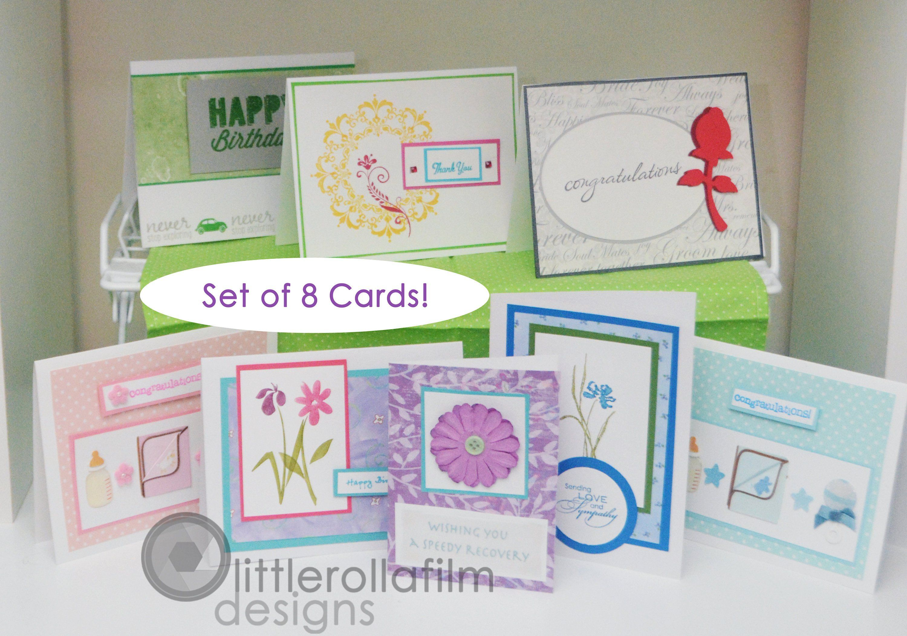 Set Of 8 Assorted Card Package 02