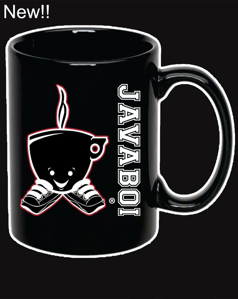 Image of Javaboi Mug Red White & Black