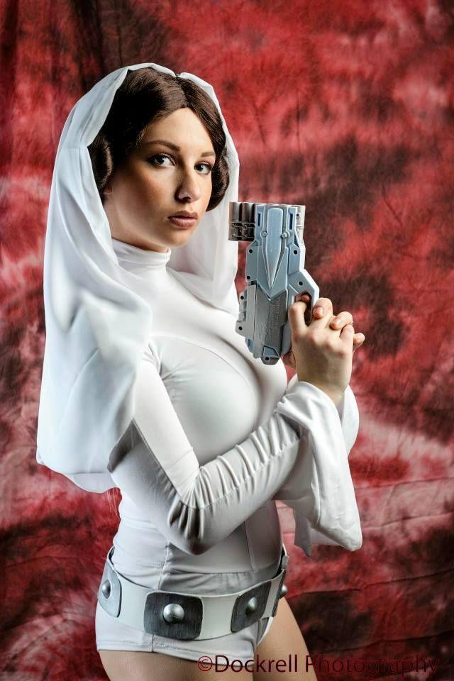Princess leia cosplay nude