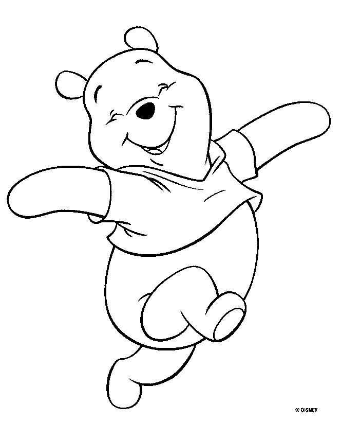 Dibujos Para Pintar Winnie Pooh Feliz Para Pintar Estampas Y