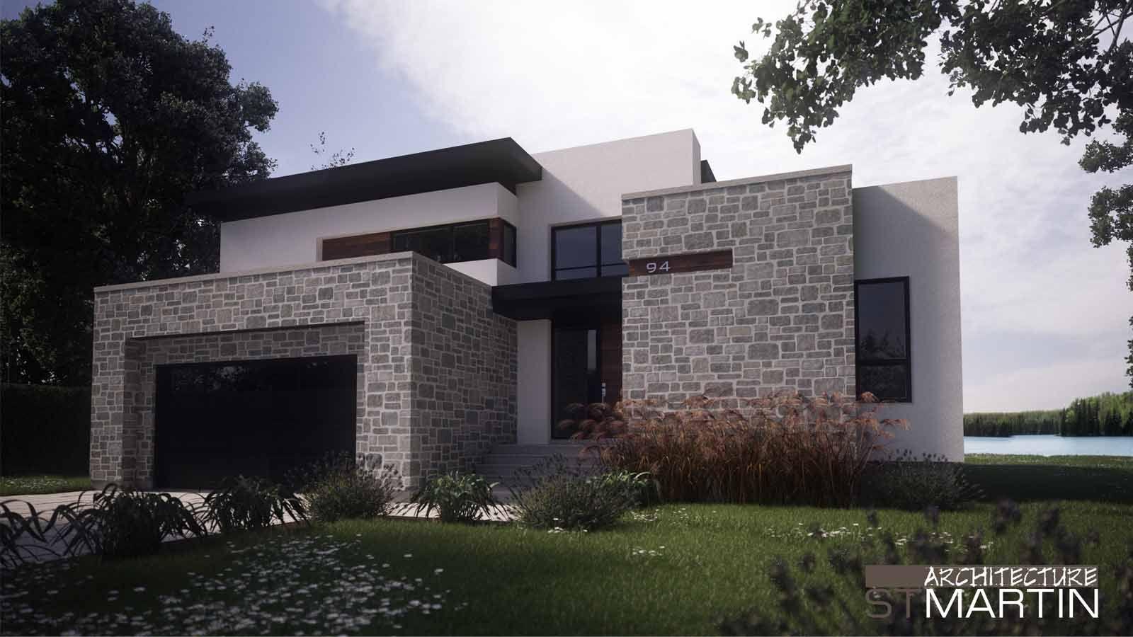 architecture st martin maisons neuves design maisons. Black Bedroom Furniture Sets. Home Design Ideas
