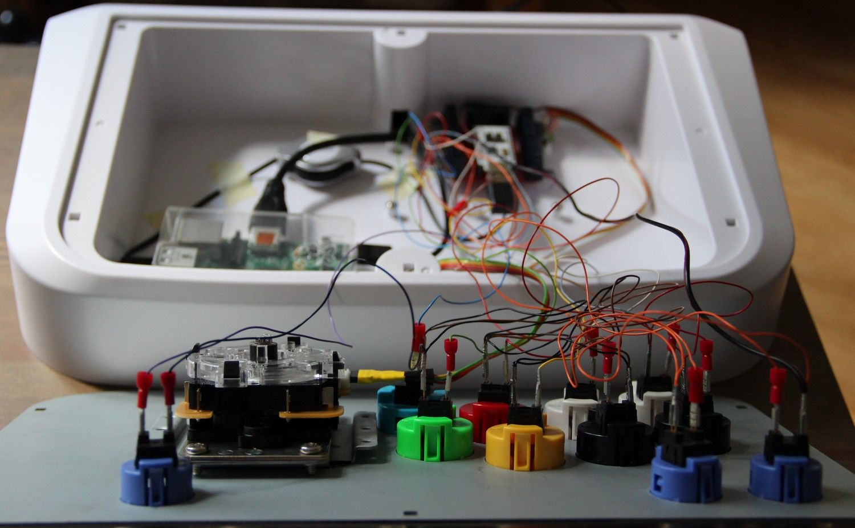 stick raspberry pi arcade panel pinterest jeux. Black Bedroom Furniture Sets. Home Design Ideas