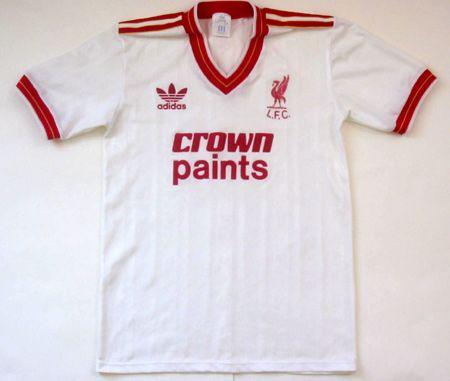 451267ef925 Eighties Liverpool Away Shirts