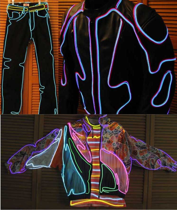 EL Wire Light Costumes