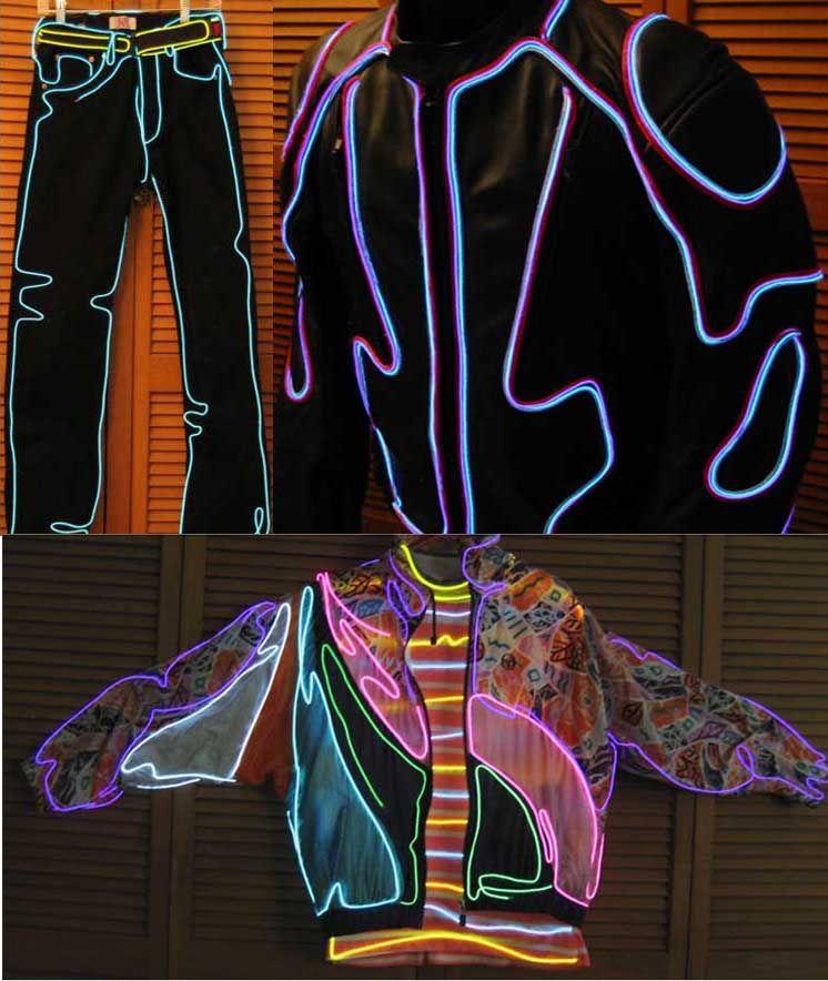 EL Wire Light Costumes