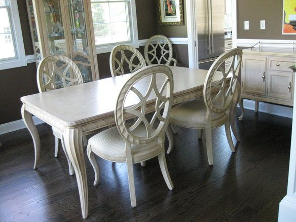 Bernhardt Rendition Dining Table And Chairs Dining Table Table