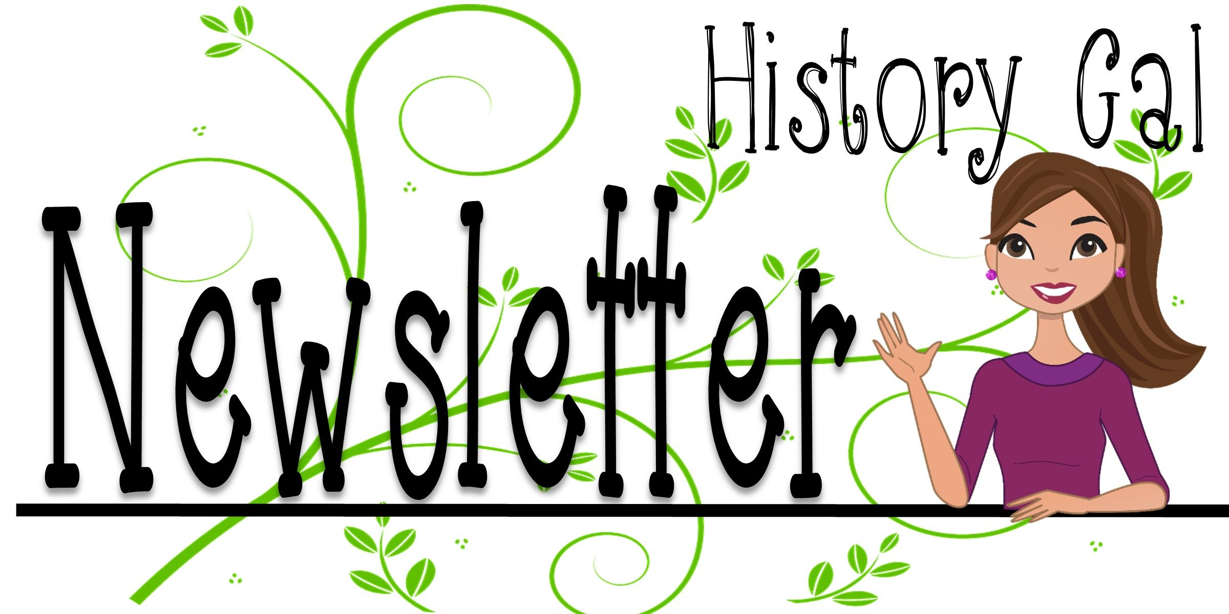 History Gal Newsletter