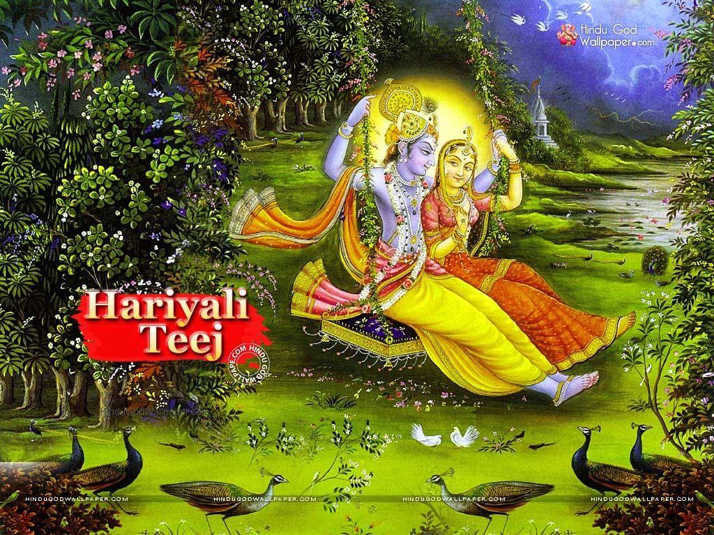 Hariyali Teej Wallpaper Krishna Pictures Krishna Images Radha Krishna Photo