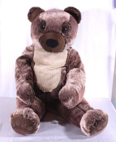 Ikea-Teddy-Bear-Plush-Big-Vandring-Bjorn-Brown-Large-26-Stuffed-Animal