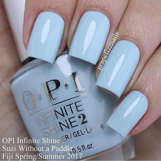 Nail Polish Colors Spring 2018 Opi: OPI Fiji Collection Spring/Summer 2017 #suziwithoutapaddle