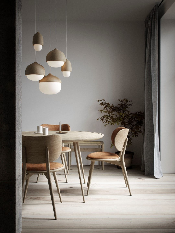 Buy Mater Accent Dining Table Matt Oak   AMARA in 2020