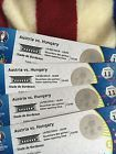 #Ticket  2016 UEFA EURO EM 2 x Tickets Austria vs Hungary Ungarn Östrerreich  Categror 2 #deals_us