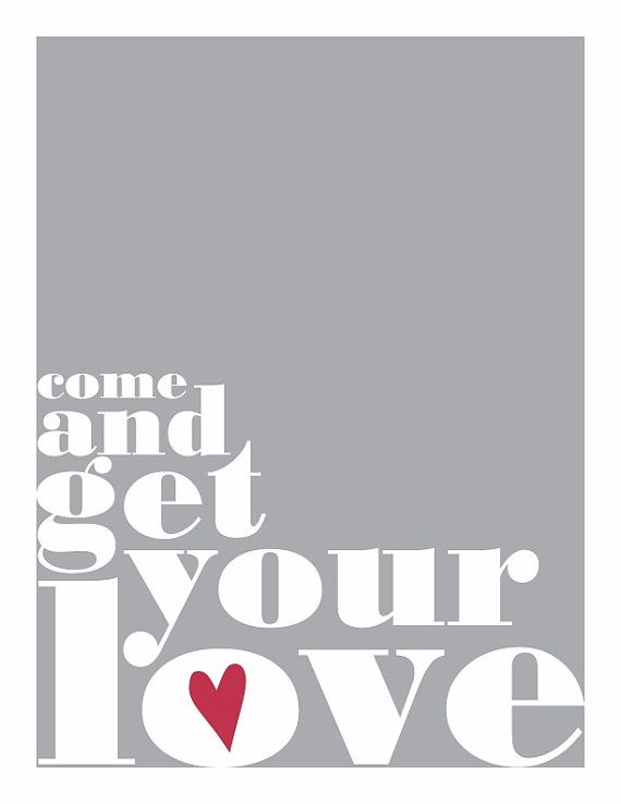 Typography Print Love Song Lyrics Gray Red By Houseoftenderbeasts 20 00 Love Songs Lyrics Quotes By Genres Love Yourself Lyrics