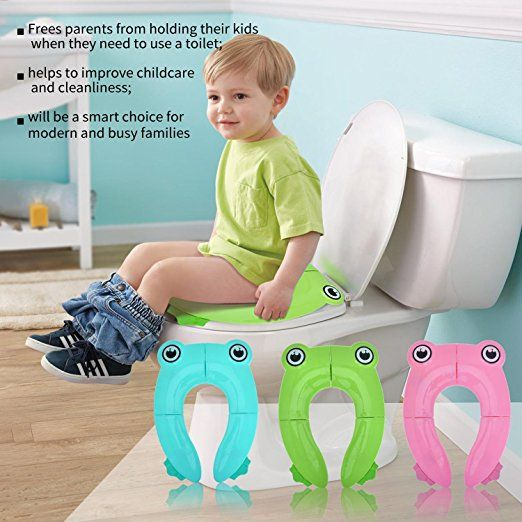 Potty Chair Large Child Dining Seat Pillows Amazon Travel Toilet Training Covers Upgrade Folding Non Slip Pads For Baby Toddler Kids 9 80 W Code Reg 14 99 As Of