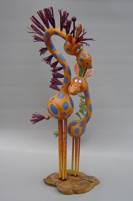 Alan Baker's goal is not only to create objects that are aesthetically pleasing and well crafted, but also to make people smile and maybe even laugh out loud. See his creations at the Buffalo Grove Art Fair this weekend at the Buffalo Grove Town Center! www.BuffaloGroveArtFestival.com