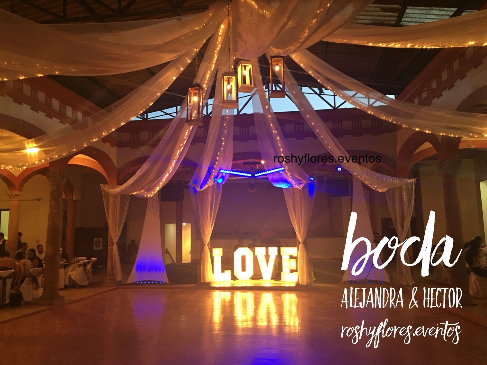 Boda A&H #wedding #decorations #roshyflores.eventos