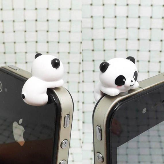 3.5mm Cute Cartoon Bear Design Mobile Phone Ear Cap Dust Plug For Iphone Andriod And All Of 3.5mm Headphone Hole Handsome Appearance Dust Plug Cellphones & Telecommunications