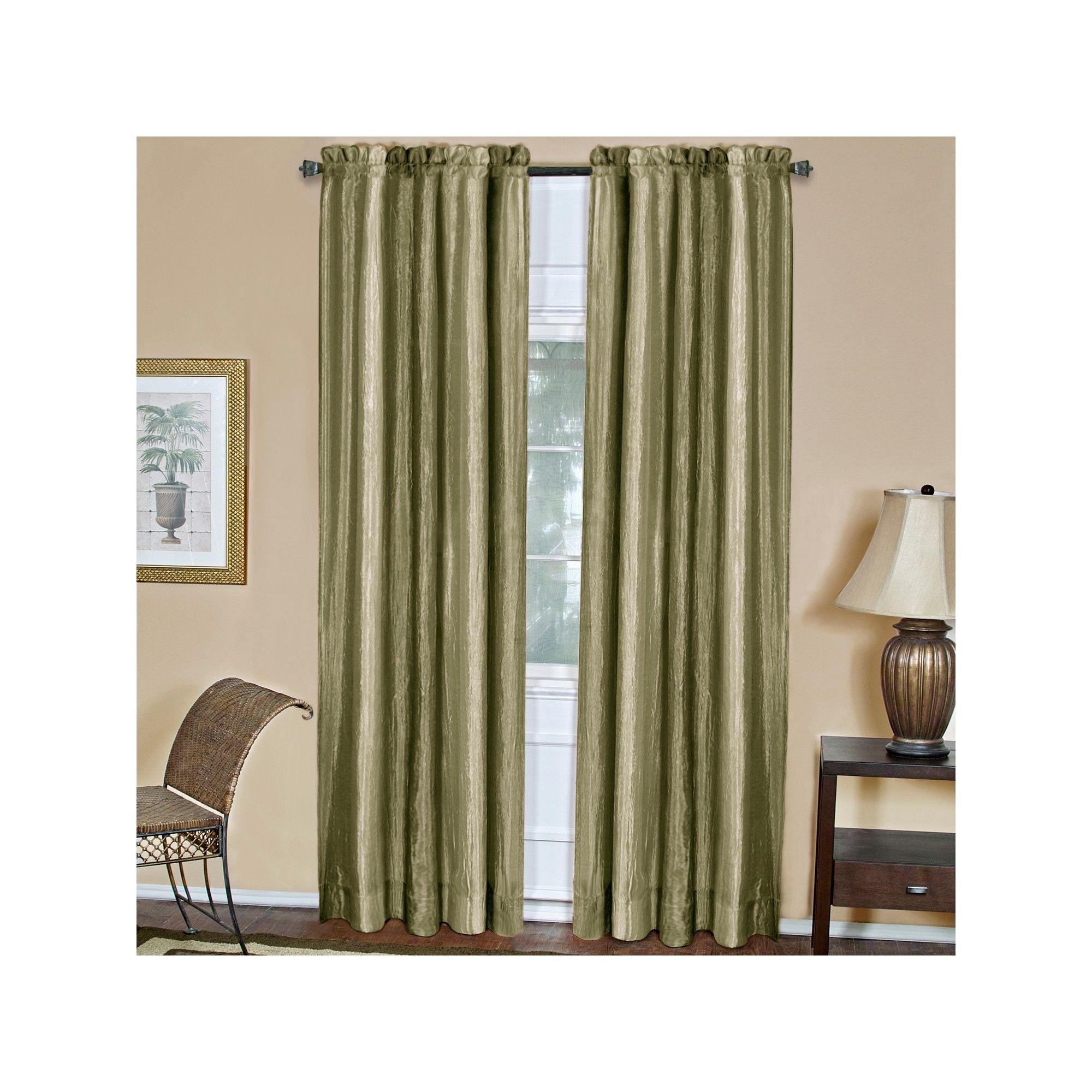Ombre Window Curtain Panel Aubergine 50 X64 Achim Sage