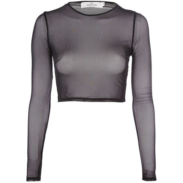 Image result for black mesh top long sleeve