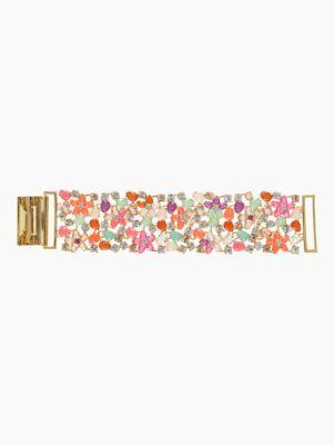 GIVERNY FLORAL mesh bracelet - kate spade new york