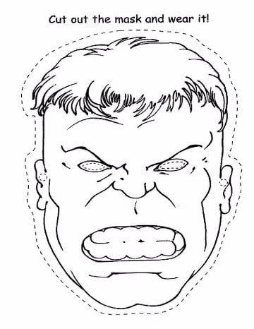 imagenes de hulk para colorear gratis | Super Heroes Marvel ...