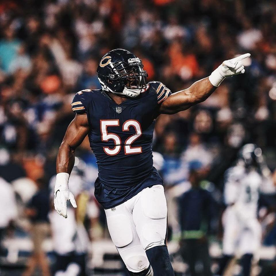 Khalil Mack Chicago Bears Football Fantasy Football Jordy Nelson