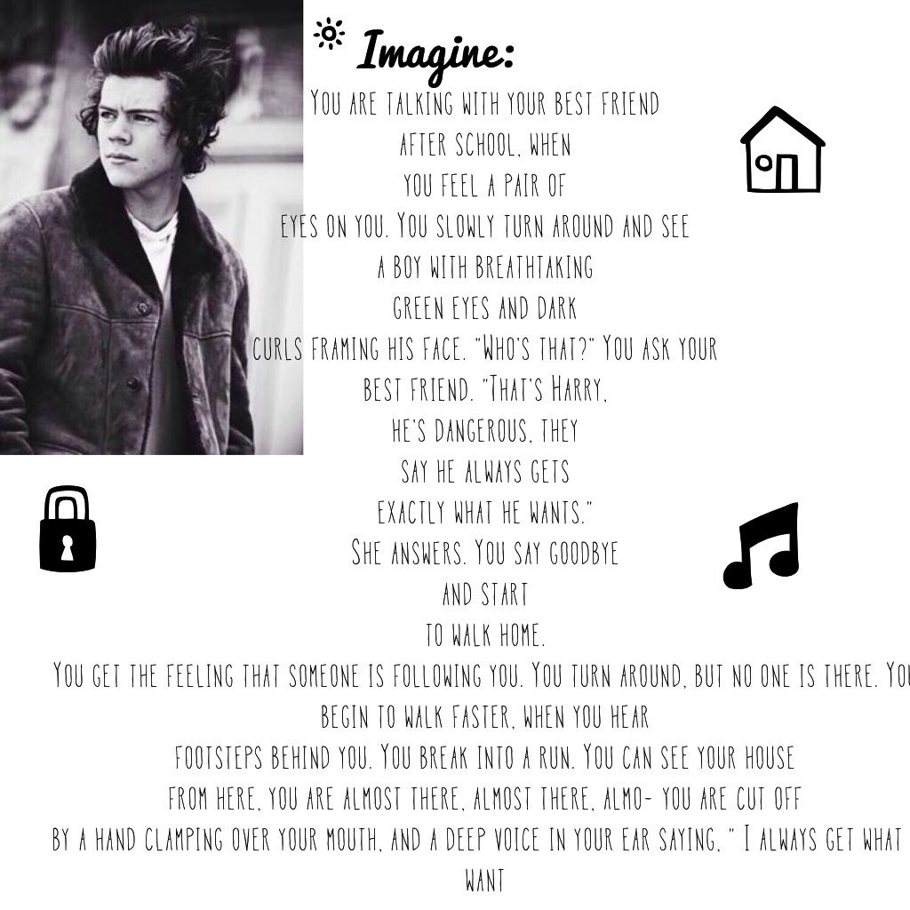 Imagine I made<<< geez that's pretty deep and dark | Imagines