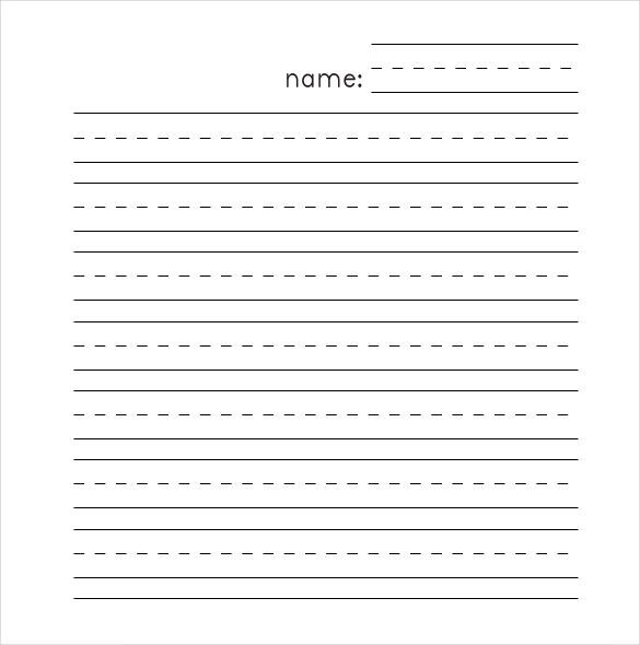 Lined Paper Template – 12+ Free Word, Excel, PDF Documents Download ...