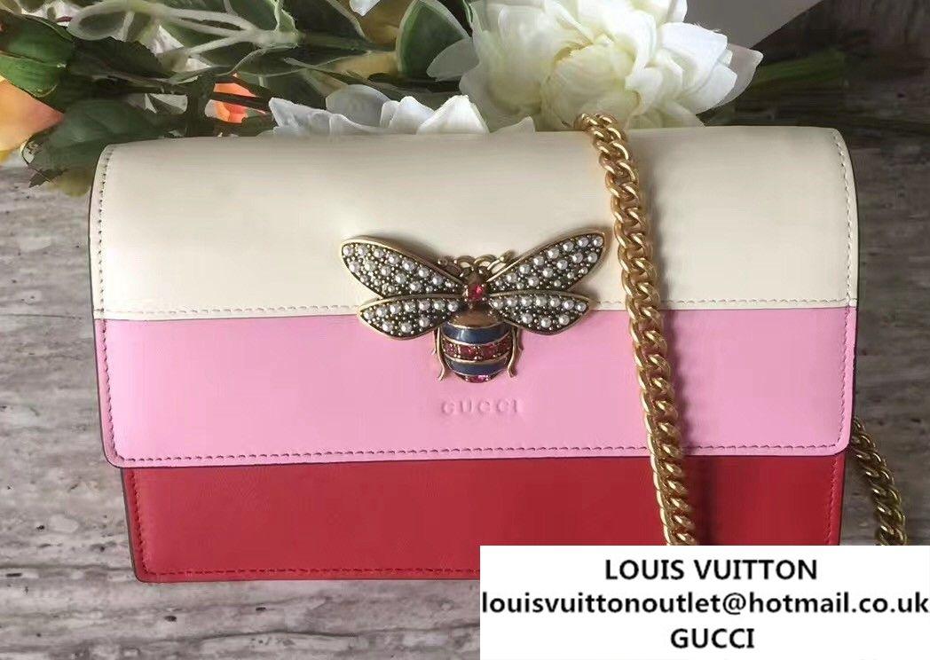 Gucci Queen Margaret Leather Leather Mini Bag 476079 2017 Mini