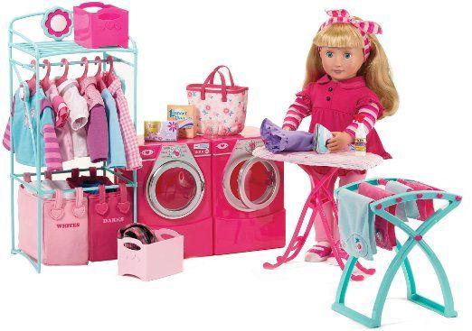 Amazon Com Our Generation Contemporary Laundry Set For