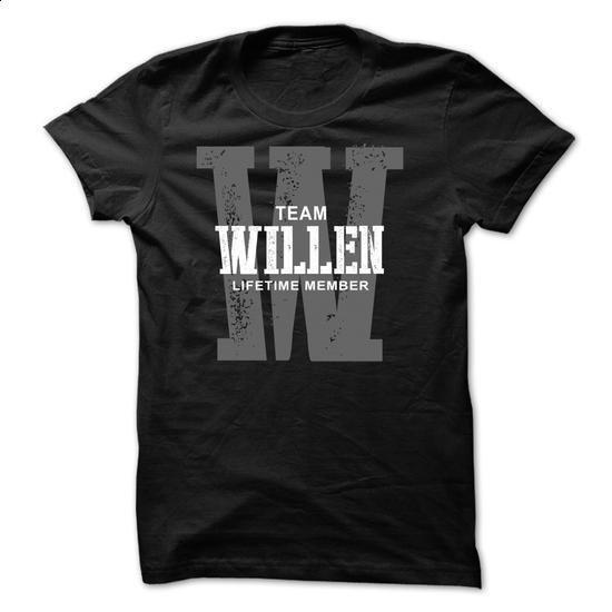 Willen team lifetime member  - #gift bags #shower gift