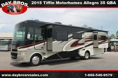15 Tiffin Motorhomes Allegro 35 Qba Rv Class A Motorhome Gas Coach
