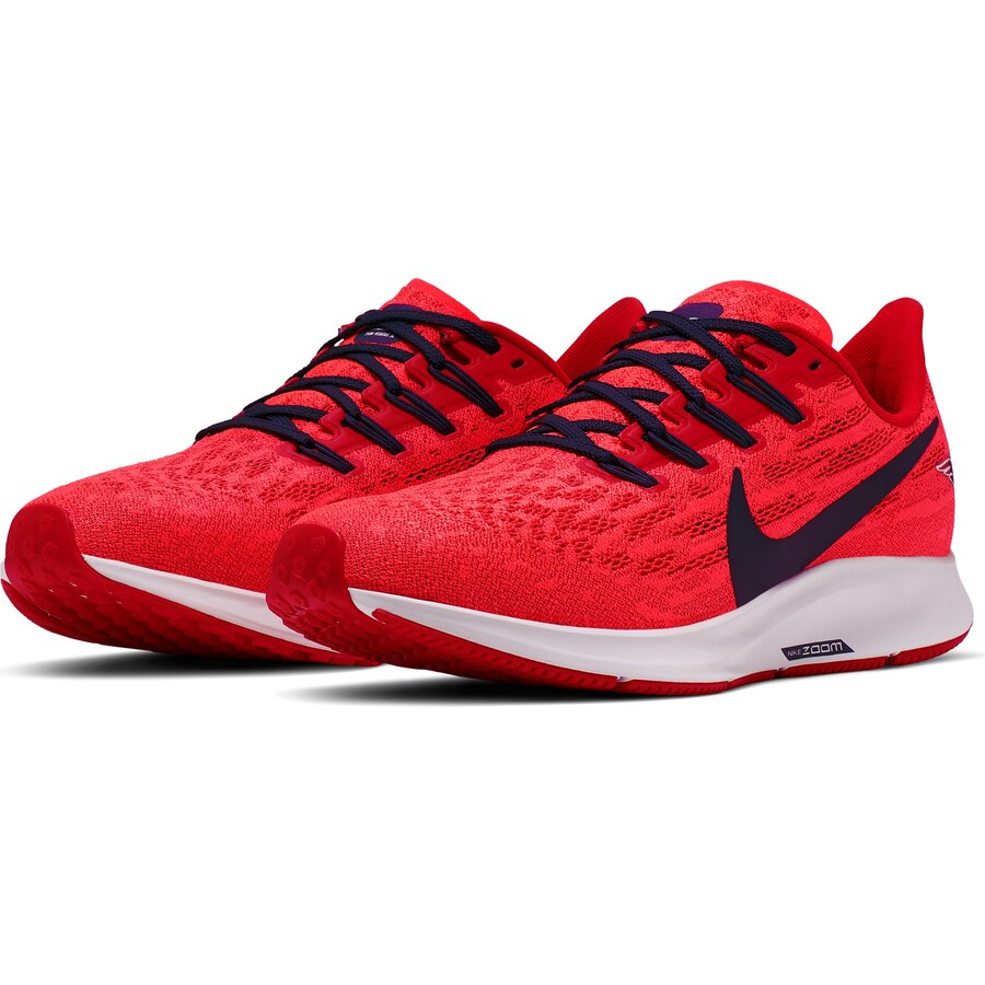 New England Patriots Nike Women S Air Zoom Pegasus 36 Running Shoes Red Navy New England Patriots New England Patriots Game Jersey Patriots