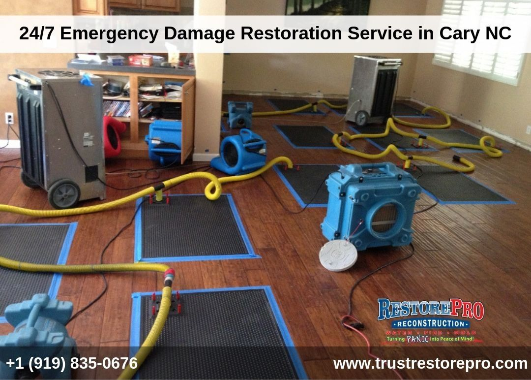 Water Damage Residential Commercial Raleigh Nc Restorepro Damage Restoration Restoration Services Mold Remediation