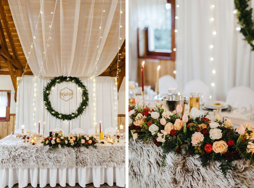 Zimowy Slub Dominiki I Jacka Serdecznosci Fotografia Slubna Wedding Day Wedding Table Decorations