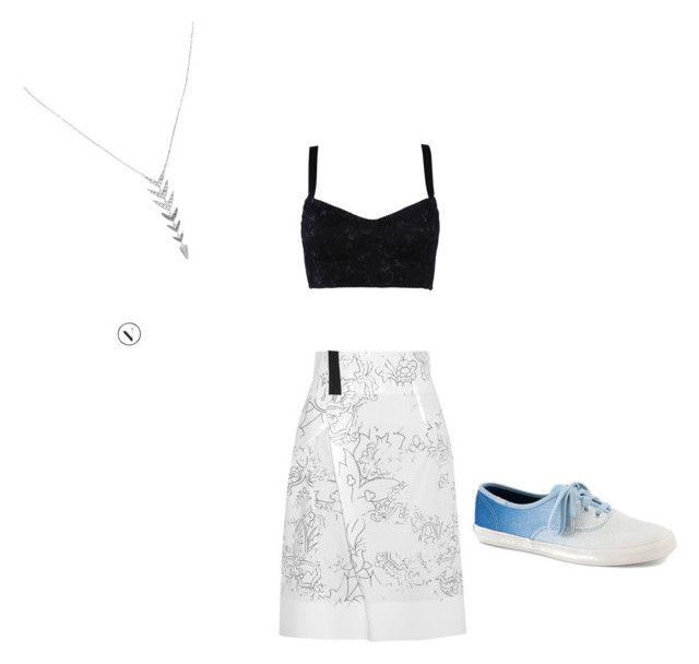 """Untitled #7"" by allykatt33 on Polyvore featuring Dolce&Gabbana, Jil Sander, Keds and Stella & Dot"