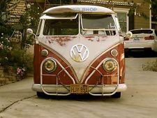 1962 Volkswagen 15 Window Deluxe Bus Ratrod Slammed Custom Don T