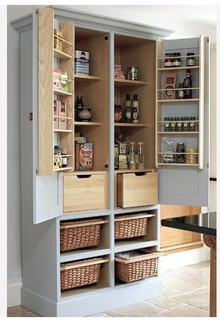 Turn An Old Tv Armoire Into A Food Pantry Rangement Cuisine