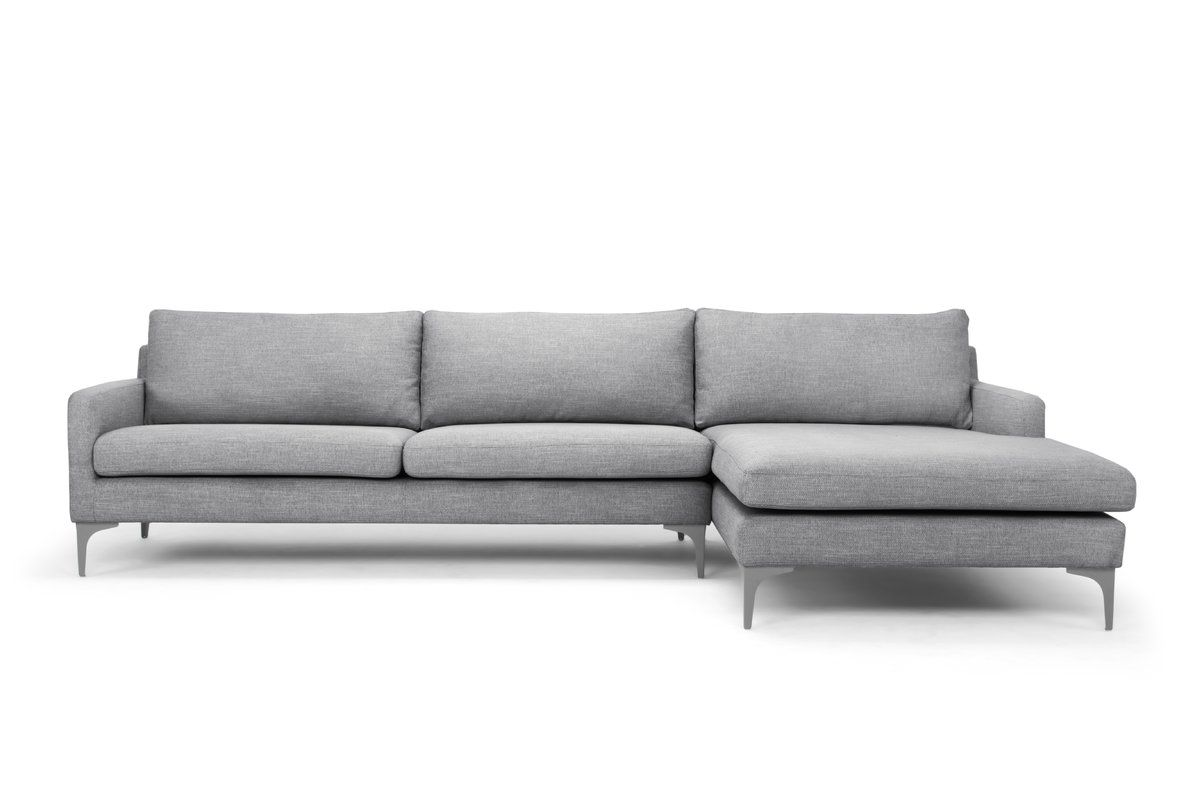 Eden Sectional Reviews Allmodern Sectional Modern Furniture Living Room All Modern