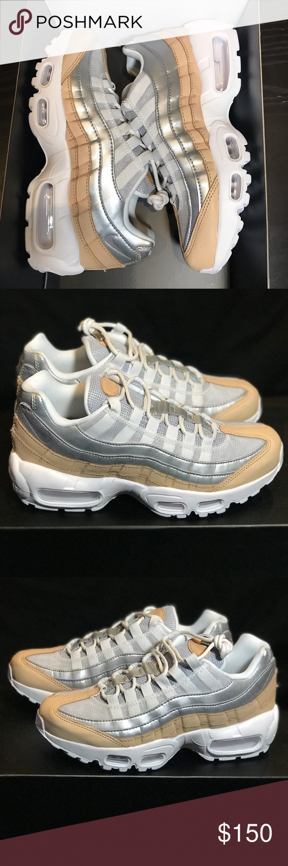 pretty nice bf369 bd2ec New - Nike WMNS Air Max 95 SE PRM - size 6 New with half box