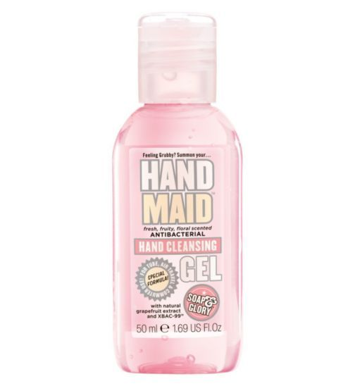 Soap And Glory Hand Maid Antibacterial Hand Cleansing Gel 50ml