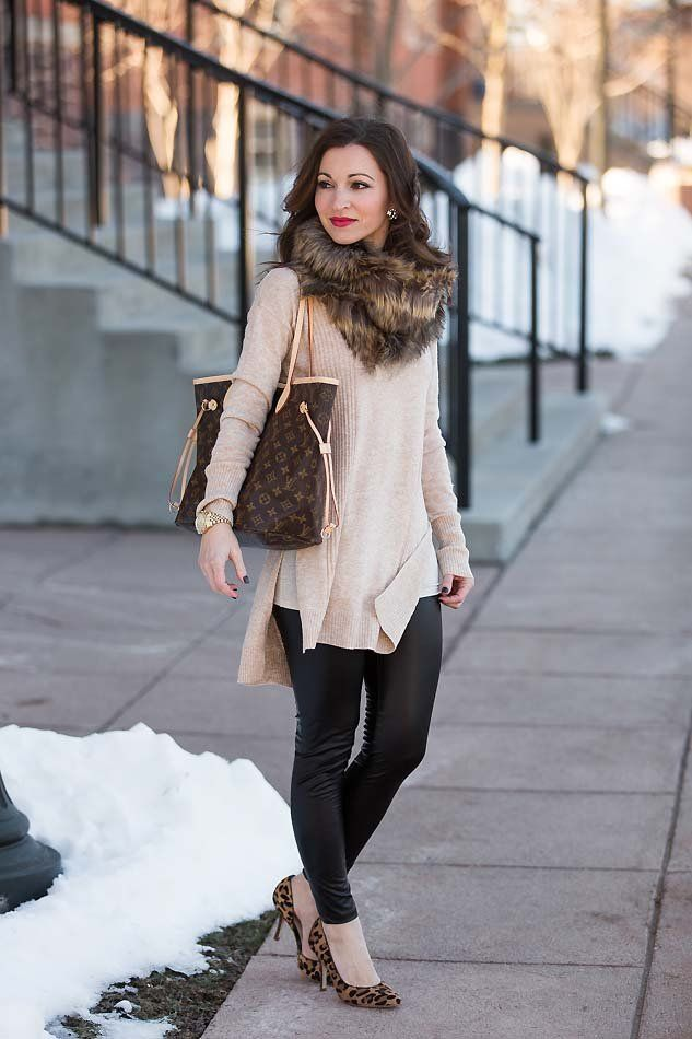Styling Neutrals | Love this look! | Fashion, Leather