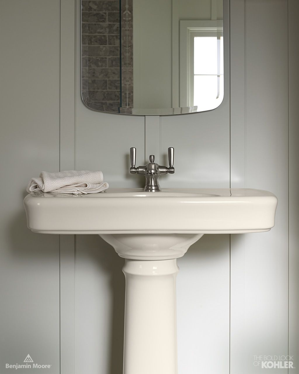 The Bold Look Of Neutral Bathroom Rustic Bathrooms and White