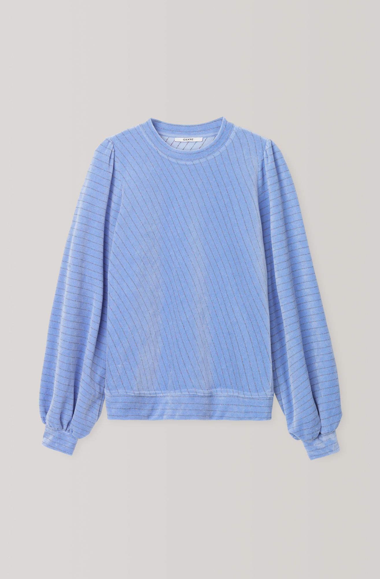 e0b0d04dbc GANNI (US) Velvet Jersey Puff Sweatshirt | Wishlist | Sweatshirts ...