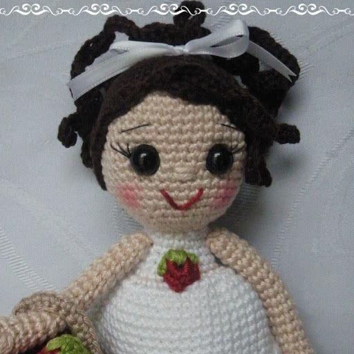 Amigurumi Josie Doll | Bonecas de crochê, Bonecas, Boneca amigurumi | 512x512