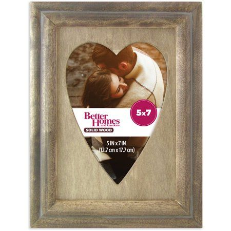 Better Homes And Gardens 5x7 Shepherd Heart Picture Frame Rustic
