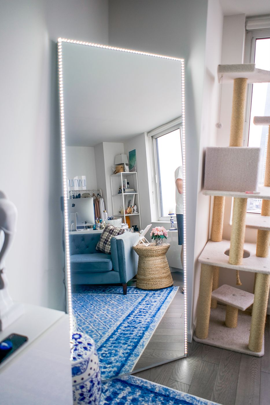 Diy A Full Length Led Light Mirror For