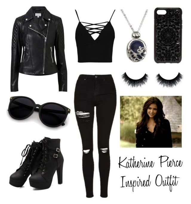 """katherine pierce inspired outfit""giuliagiugni on"