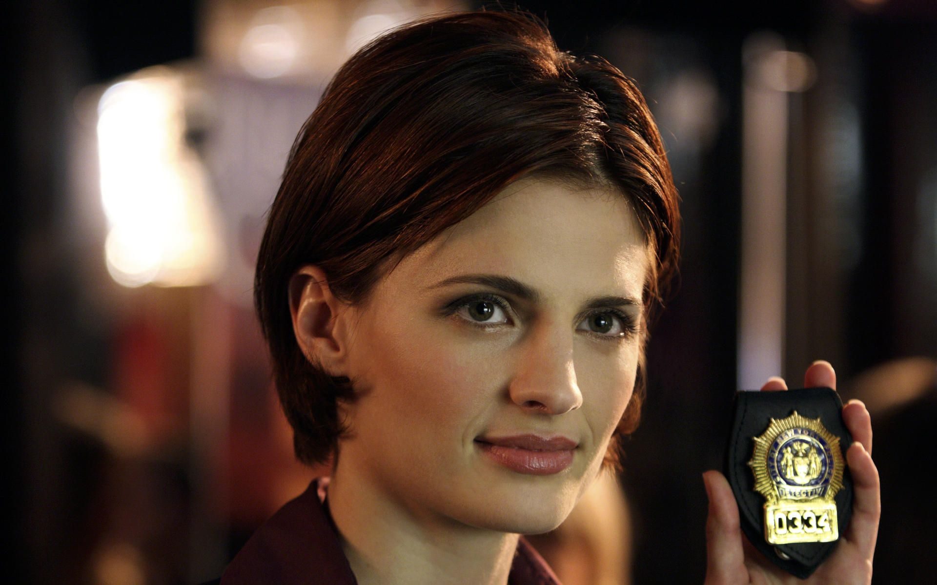 stana katic as eve dallas | in death characters | pinterest