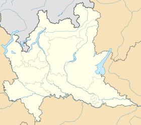 Grands lacs italiens. voir sur la carte de Lombardie ...
